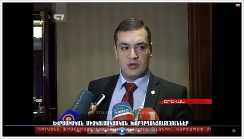 Tigran Urikhanyan. The first channel. 12.11.2012